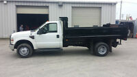 2008 Ford F-350 4x4 one ton dump truck