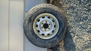 motomaster roughrider tires and rims set