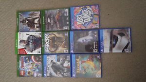 Xbox One and PS4 games (updates in description)