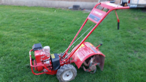 Lawn tractors and mowers, rototillers