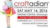 Craftadian Spring Show (formerly Made by Hand Craft Show)