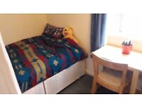 Single Room with Double Bed in Shared Flat