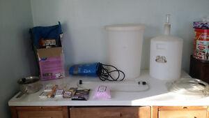 start to finish wine making kit