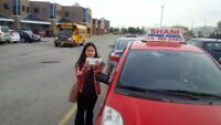 LEARN CAR DRIVING FROM BEST LADY INSTRUCTOR IN KITCHENER.