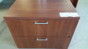 used Wood 'Lacasse' 2 Drawer Lateral Filing Cabinet