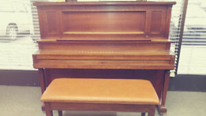 Antique Nordheimer Piano
