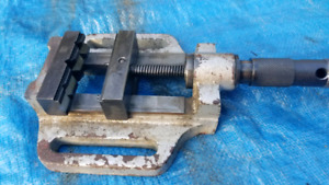 Drill Press Vice Decent Condition Quality Made Vise