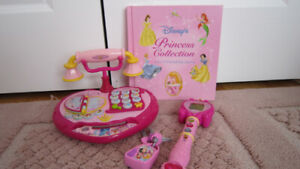VTech Disney Princess Telephone and Magical Learning Wand