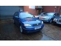 2002 / 02 Vauxhall Astra 1.8 I 16v Elegance 5 Door Great Value Automatic+Long MO