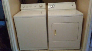 URGENT - Washer/Dryer for sale MUST GO SOON