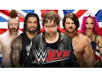 X2 WWE VIP MEET & GREET ROW A £450 (sold out)