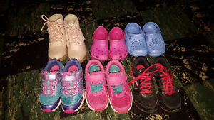 Girls size 11 sneakers and boots