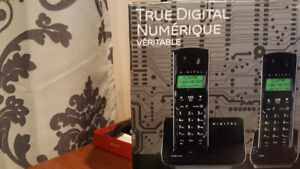 NEW CORDLESS PHONES - 2 UNITS - GE True Digital Technology