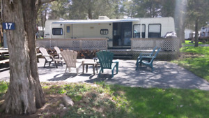 39' Trailer on Waterview site at Pickerel Park SOLD PENDING