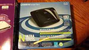 FREE GIFT with LINKSYS /Cisco N ULTRA wireless - brodband Router