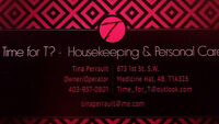 Time for T?- Housekeeping & Personal Care