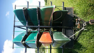8 Canoes/Trailer etc.