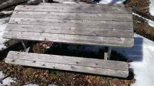 Cedar picnic table (built and ready for sale) Peterborough Peterborough Area image 9