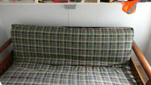 Wooden Futon, double bed