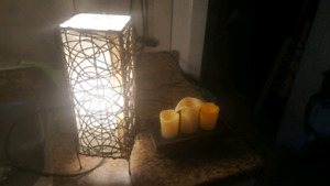 Wicker light