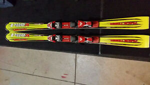 Volkl 155 with Marker Bindings