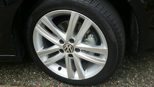 Volkswagen- 'As new' complete set Mags & Tires (Jetta)
