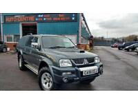 MITSUBISHI L200 WARRIOR 2006 DOUBLE CAB 4X4 DIESEL PICK UP NEW TYRES NEW SERVICE