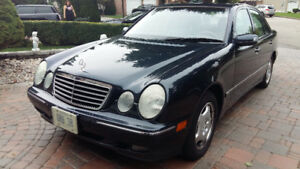 Mercedes Benz E320 4matic 2001