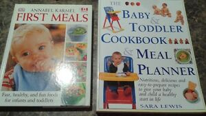 Meal preparation and what to expect baby/toddler books