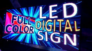 ♦♦PROGRAMMABLE DIGITAL LED SIGNS!!! CUSTOM SIZING AVAILABLE!!♦♦
