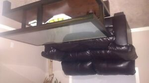 coffe table couch combo $500