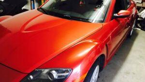 2004 Mazda RX-8 GT  cuir rouge Coupé (2 portes)
