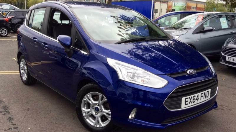2014 Ford B-MAX 1.6 Zetec 5dr Powershift Automatic Petrol Hatchback