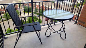 Patio Table + 1 Chair
