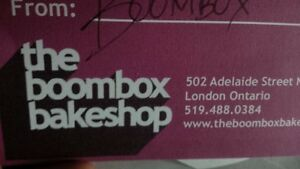 Boombox bake shop & Purdy s chocolate gift cards