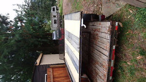8 foot steel sled deck with extras, obo