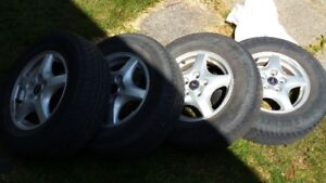 Tires _ New Condition barely used - 215 70R 15