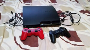 PS3 Slim 150GB, 2 Controllers 11 Games