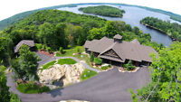 Breathtaking Views Overlooking Picturesque Lake Vernon