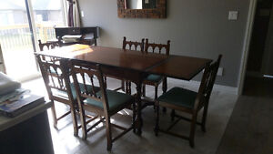 CFM Dining Table with 6 chairs and Sideboard