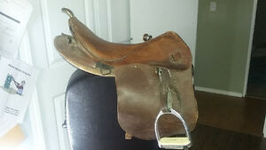 Japanese WW 2 Military Cavalry Saddle