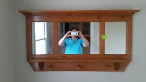 Pine Hallway Mirror