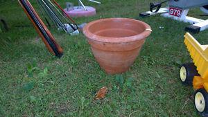 big clay pot