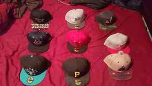 Snapbacks and fitted for sale