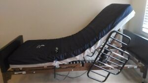 New electric hospital bed + Warranty, No Tax Has all accessories