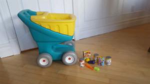 Panier épicerie pour enfants