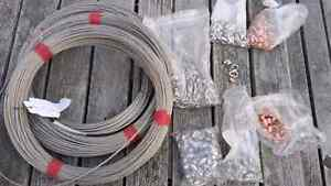 Stainless steel wire / cable with hardware