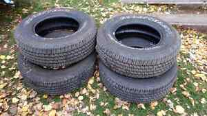 265/70r17 tires with 85% + thread