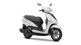 2017 YAMAHA DELIGHT 125CC ABS,MILKY WHITE, BRAND NEW!