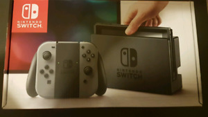 Nintendo Switch 32GB Console Hackable Homebrew BNIB Grey
